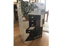 2x Brand New Black Cabinets