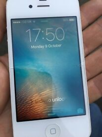 iPhone 4s 8GB on O2/GiffGaff