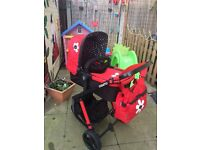 Cosatto pram/carrycot and pushchair