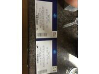 Soft cell tickets X 2 at the 02