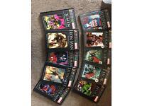 Marvel hardback graphic novels