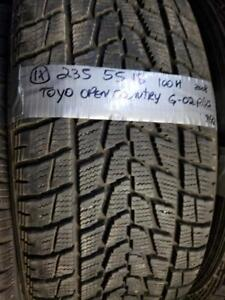1 winter tire toyo open country 235/55r18  SPECIAL SPECIAL!