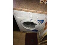 A fairly used washing machine
