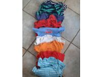huge bundle of baby boys clothes, aged 12-18 months