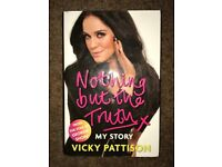 Book - Vicky Pattison - Nothing But the Truth (Hardback)