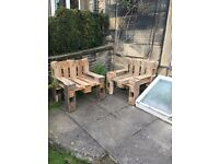 pallet chairs/furniture - built to order