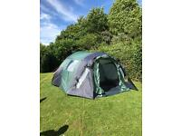 Peakland stonedge 6 man tent for sale. Pet and smoke free home