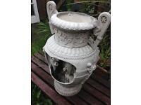 Heavy Garden Water Feature / Planter Urn