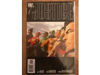 DC JUSTICE COMIC ISSUES 1 FIRST PRINTS