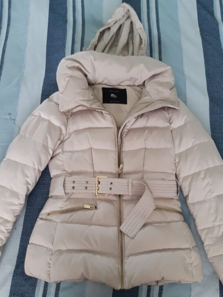 zara down ladies jacket medium