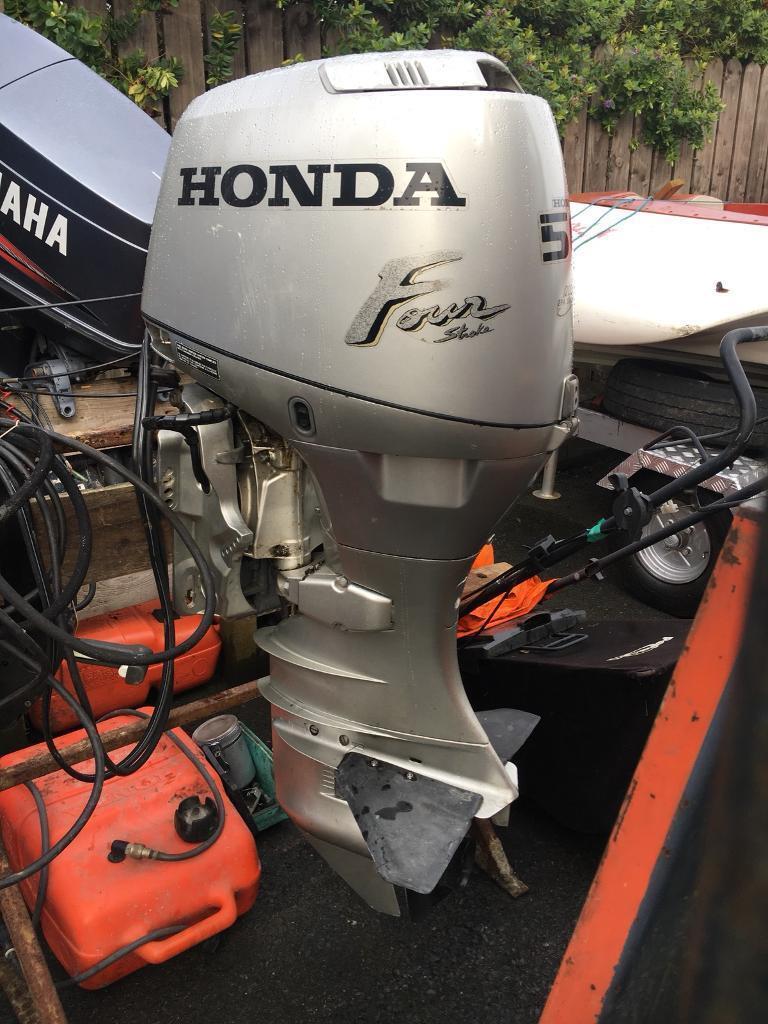 Honda 50 fourstroke outboard
