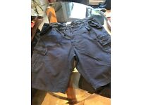 "Mens Cotton shorts in size 38"" Navy blue"