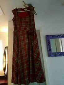 Lindy Bop tartan bop dress