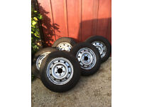 1 Wheel/tyre from Vauxhall Movano 2006 - 225/65R16 - good tread