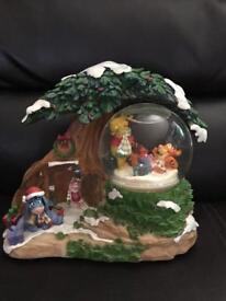 Disney Christmas snow globe