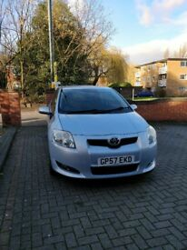 2008 Toyota Auris Automatic 1.4 Diesel 58,341 Miles For Sale 2900 REDUCED FROM 3200