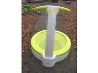 Toddler TP bubble bouncer trampoline