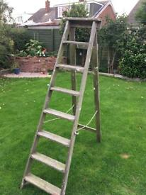 Vintage Wooden Step Ladders Project Shop Prop