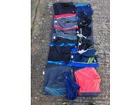 12 pairs of boys' Speedo trunks