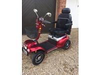 Shoprider Cordoba deluxe heavy duty 8mph mobility scooter