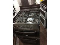 Brown cannon 55cm gas cooker grill & oven good condition with guarantee