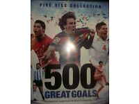 500 greatest goals dvd