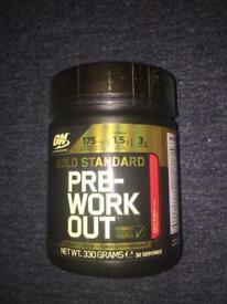 Gold standard pre workout (sealed)