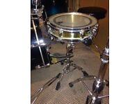 """Pearl 13"""" Brass Piccolo Snare Drum"""