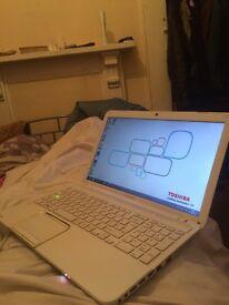 laptop toshiba 15.6 inch wide intel core i3 8g ram 1tb hard drive win 10 web cam dvd selling as got