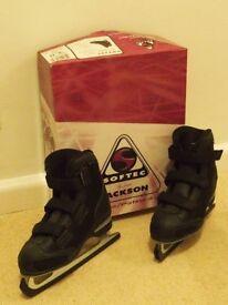 Jackson ICE SKATES Kids size 12.5 (black)