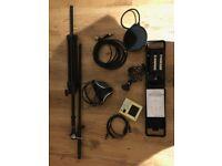 Recording equipment pack