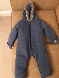 NEVER USED The White Company Baby Winter Suit
