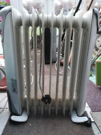 oil fill electric heater
