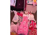 Larg bundle 0-3 and 3-6 month baby girls clothes