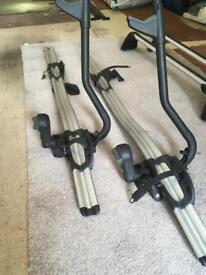 Genuine BMW bike rack x 2.