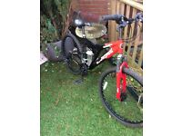 Muddy fox mountain bike almost in new condition and very cheap