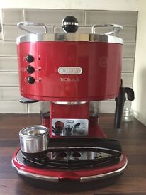 Red Delonghi Icona Micalite 311.R coffee machine