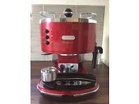 Red Delonghi Icona Micalite 311.R coffee machine