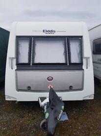 2015 Eldiss Avante 576 Touring Caravan with motor mover