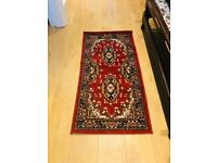 Small Traditional Classic Red Rug