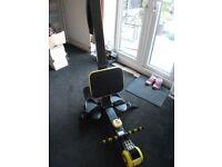Body tech rowing machine