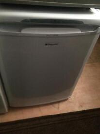 White Hotpoint condenser refrigerators good condition with guarantee