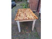 Rustic Farmhouse Kitchen/Dining Table