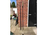 2 Nash carp fishing rods excellent condition