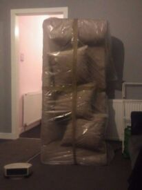 small 3 seat sofa for sale still in packaging
