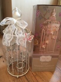 Vintage wedding lanterns x6