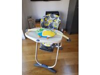 Chicco multi position high chair