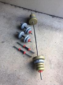 York barbell and dumbbells weights