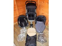 Quinny Buzz 3 Rocking Black Travel System