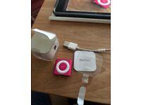 iPod Shuffle 4th Generation ,2GB Pink